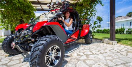 Buy any property in Sosua Ocean Village and get a FREE Buggy Car!