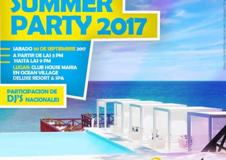 End of Summer Party 2017!