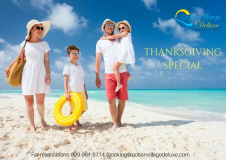 Special Thanksgiving Offer from Ocean Village Deluxe!