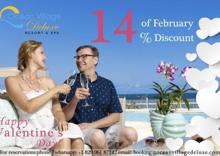 Valentine`s Day at Ocean Village Deluxe!