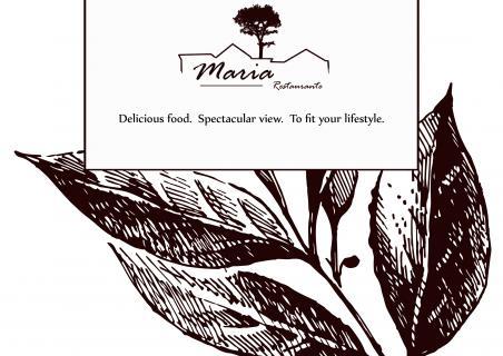 Новое меню ресторана Мария