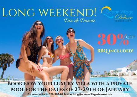 Long Weekend at Ocean Village Deluxe! 30% off!