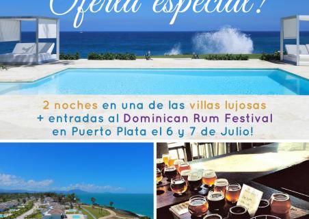 Oferta especial de Ocean Village Deluxe y Dominican Rum Festival!