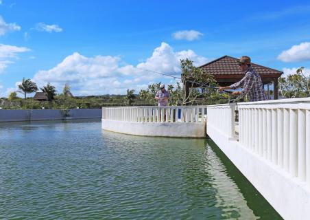 Great news! Our fishing lagoon is opening on July 14th 2018!