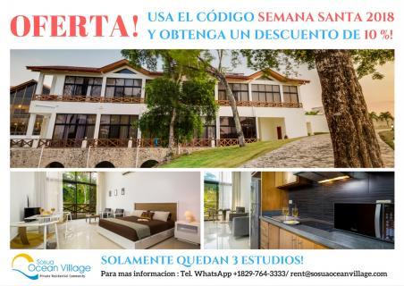 Cпециальное Предложение от Sosua Ocean Village!