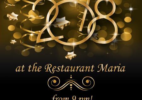 Новый год 2018 в ресторане Maria в Ocean Village Deluxe!