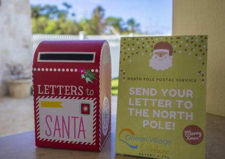 Santa's Mail Box in Sosua Ocean Village and Ocean Village Deluxe
