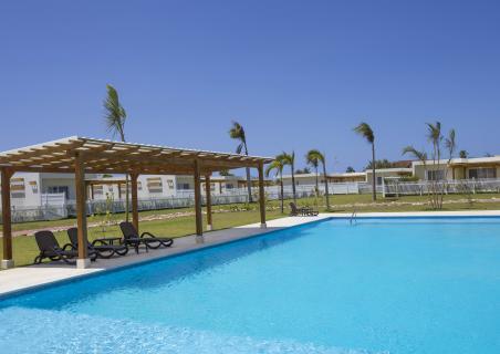 New gazebos at the common area of Villas Campo Del Mar 2!