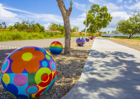 New art objects at Sosua Ocean Village