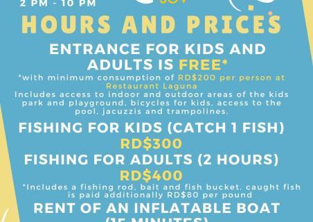 New prices at Laguna SOV