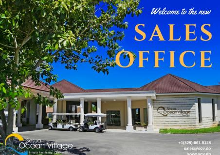 Recent relocation of our Sales Office