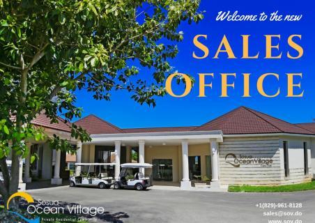 Открылся новый офис продаж!