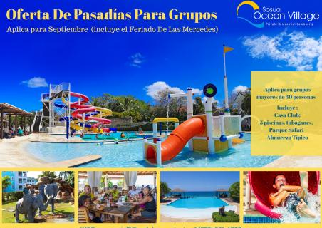 Day Pass Offer for groups.