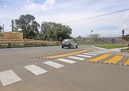 New Zebra crossings around Sosua Ocean Village