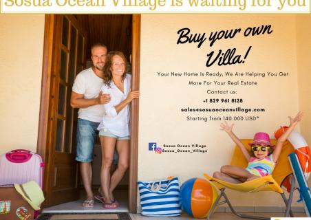 Buy your own villa at Sosua Ocean Village!