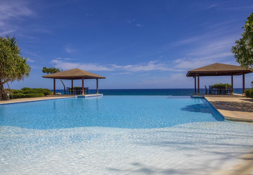 Infinity pool in Sosua