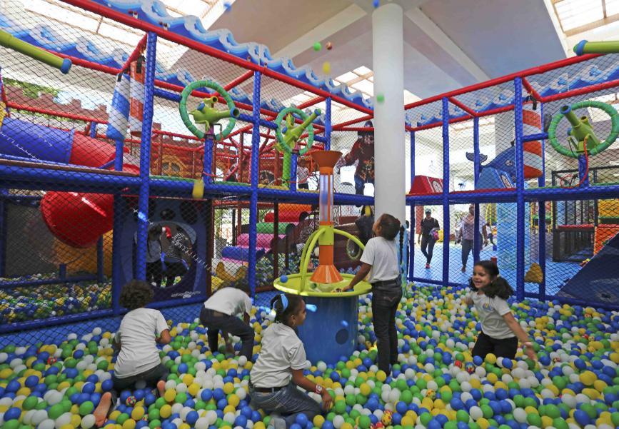 Family entertainment center in the Dominican Republic