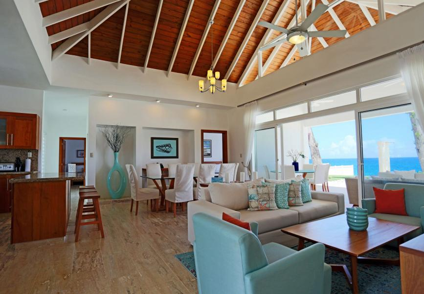 Oceanview villas